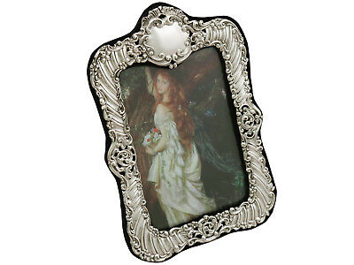 Victorian Sterling Silver Photograph Frame by Henry Matthews