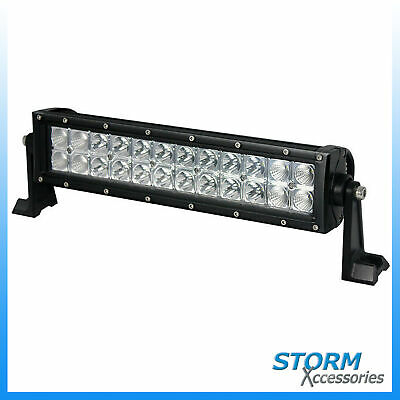 Duoside 12 Inch Led Lightbar With Drl - Flood Spot Combo Offroad Light Bar