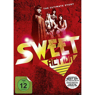 The Sweet - Action! The Ultimate Sweet Story (Dvd Action-Pack) [DVD]
