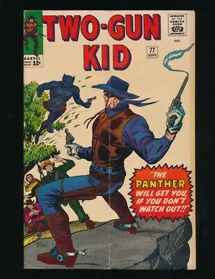 Two Gun Kid #77 Marvel Comics 9/1965 1St Appearance Of The Panther *unpressed*
