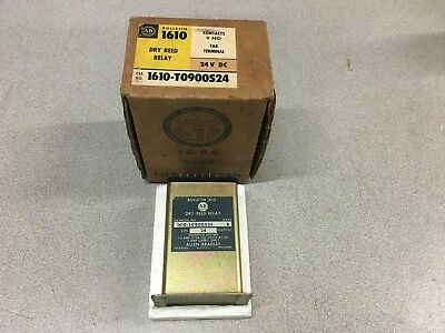 New In Box Allen Rbadley Dry Reed Relay 1610-T0900S24 Series B