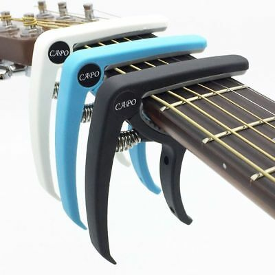 Guitar Electric Acoustic Capo Clamp Quick Tune Change Key Trigger Accessories