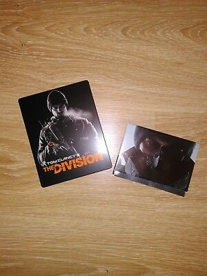 Tom Clancy's The Division Steelbook G2 + Poster (no game) NEW