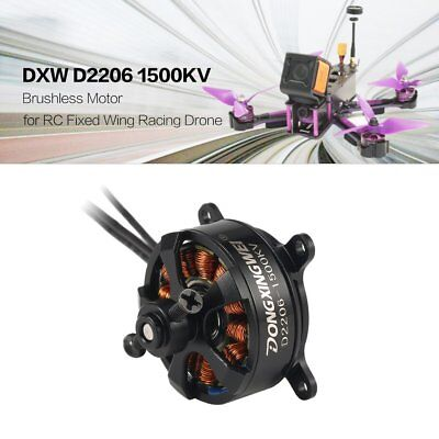 DXW D2206 1500KV 2-3S Brushless Motor for RC Fixed Wing Airplane Aircraft R*