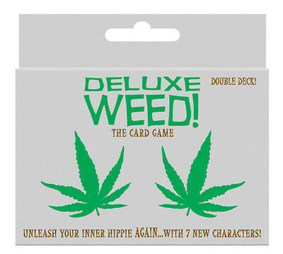 108 Cards Adult Card Game - Deluxe WEED! The Outrageously Fun Game for Any Party