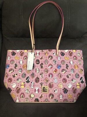 NWT Disney Dogs Dooney & Bourke Pink Tote Bag Purse - SOLD OUT!
