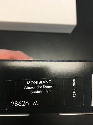 Montblanc Alexander Dumas Limited Edition Fountain Pen