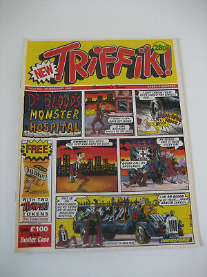 TRIFFIK! Comic - No 1 dated 29th Feb 1992, First Edition Exc Triffik