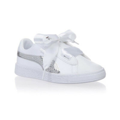 Puma Bling Enfant Ps Baskets Blanc Heart sdQhCrt
