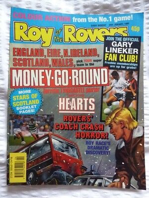 Roy of the Rovers Comic 26 01 1991 Exc Condition