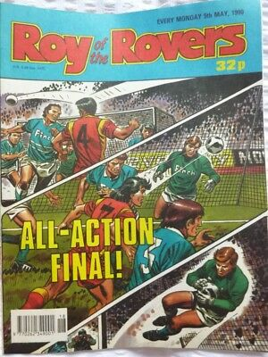 Roy of the Rovers Comic 05 05 1990 Exc