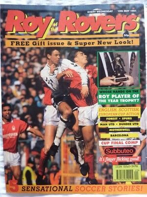Roy of the Rovers Comic 18 05 1991 Exc Condition