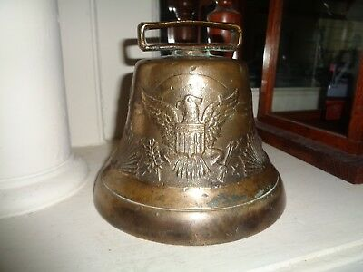 US Army Camel Corp US Cavalry Civil War Eagle Bell!!!Massive Rare Size!!