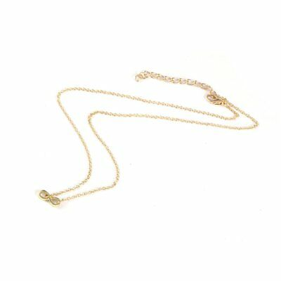 Women Lucky Numbers Pendant Necklace Charming Short Clavicle Chains Necklaces
