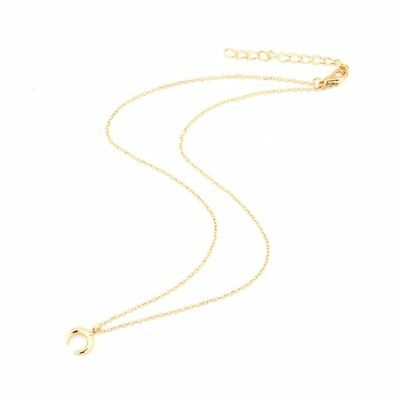 Jewelry Charm Horns Shaped Alloy Clavicle Pendant Short Chocker Necklace Gift