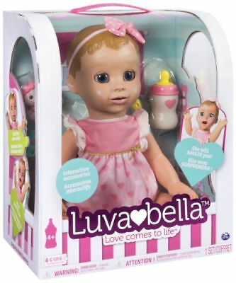 Luvabella Blonde Hair Interactive Doll (Brand New & Sealed)