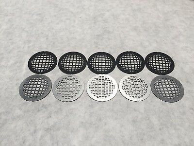 Lot of 10 x 27.9 mm M-Grid Ball Stainless Steel Gobo #43076011