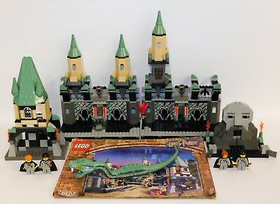 LEGO Harry Potter #4730 The Chamber of Secrets NOT COMPLETE Basilisk Fawkes