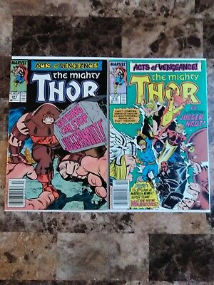 The mighty thor 411 and 412 first new warriors appearance