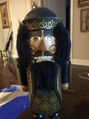"Steinbach Nutcracker 12""  Vintage Petersen Design Made in Germany"