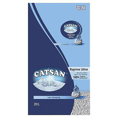 Catsan Hygiene Cat / Kitten Litter - 20 Litres Absorbent With Odour Protection