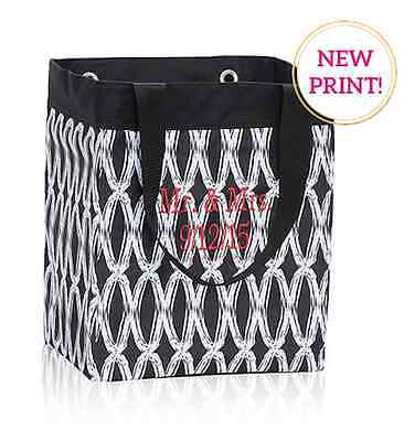 Thirty one Essential Storage utility tote bag 31 gift in black links retired