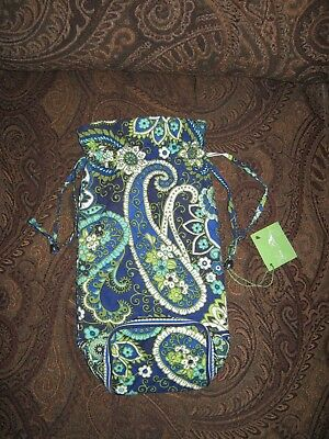 818286818a75 New with Tag Vera Bradley Cheers to you Rhythm   Blues wine gift bag