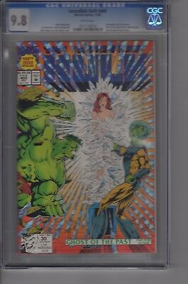 Incredible Hulk  # 400 CGC 9.8 Holo Grafx cover White Pages