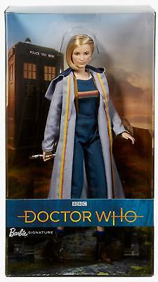 Barbie Doctor Who Thirteenth Doctor with Sonic Screwdriver Collector Doll