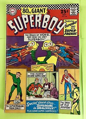 80-Page Giant Superboy Comic #129 (May 1966) DC Comics