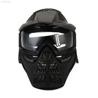 2697 Full Face Mask Hunting CS War Game Field Tactical Airsoft Paintball PC Lens