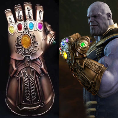 Thanos Gauntlet Glove Cosplay The Avenger Infinity War Marvel Hand Fist Prop Toy