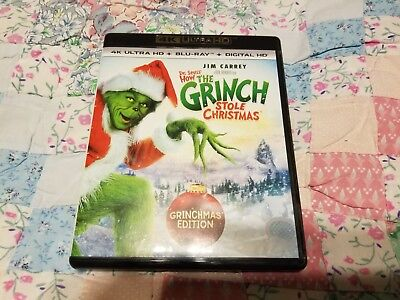 How the Grinch Stole Christmas 4K Ultra HD + Blu-ray