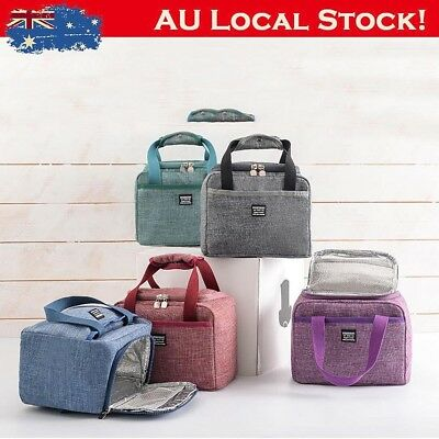 Insulated Lunch Box Soft Cooler Bag Waterproof Thermal Work School Picnic Bento