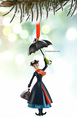 """In Stock Now ~Disney Store~ Licensed 2018 """"mary Poppins"""" Sketchbook Ornament"""
