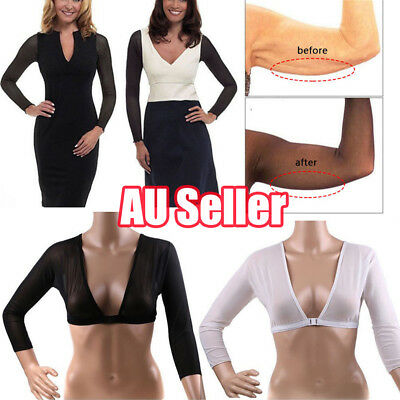New Women Plus Size Seamless Arm Shaper AU Fast and Free Shipping UE