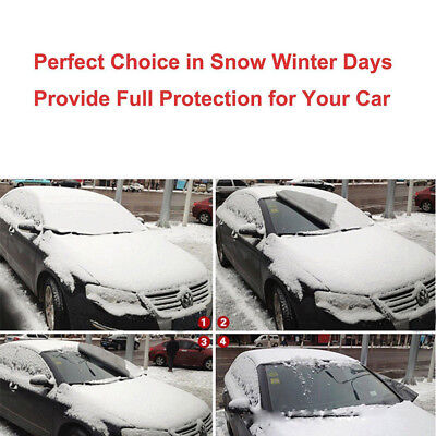 Car Snow Ice Protector Visor Sun Shade Fornt Rear Windshield Cover Block Shields