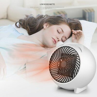 Portable Silent Electric Fan Heater Hot Thermostat For Home Baby Bedroom SU