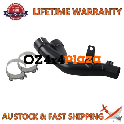 Mid Pipe Race Exhaust Link DeCat for 2011-2018 GSXR 750 600 Stainless steel