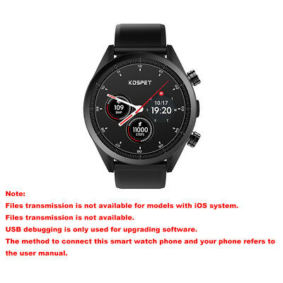 Kospet Hope 4G Smart Watch Phone GPS Global Android7.1 1.3GHz 3GB 32GB Pedometer