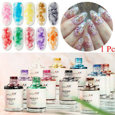 15ml Nail Blossom Gel Ink Watercolor Nail Art UV Blooming Soak Off Gel Polish