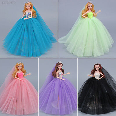 3D94 Fashionable Cute Doll Clothes Clothes Doll Dress Doll Wedding Dress Gifts