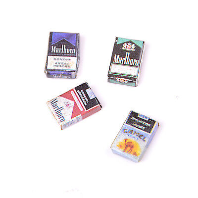 1 : 12 Doll House Dollhouse Miniatures Accessories Vintage Cigarettes ZN