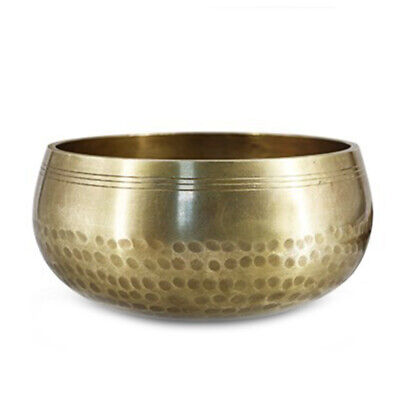 Singing Bowl Tibetan Meditation Mallet Yoga Healing Set Buddhist Brass Chakra