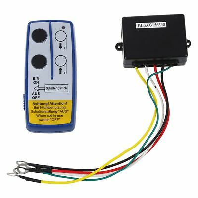 Wireless Winch Remote Controller 12 V Volt Recovery 4x4 ATV Hand Set BT I6A6