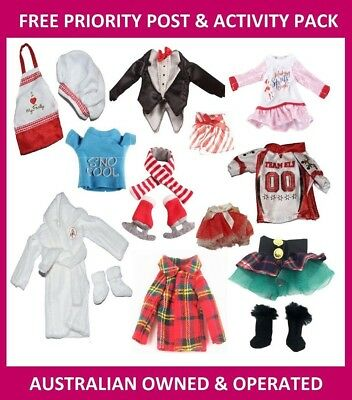 Elf Clothing & Accessories for On the Shelf Doll Display (FREE PRIORITY POST)