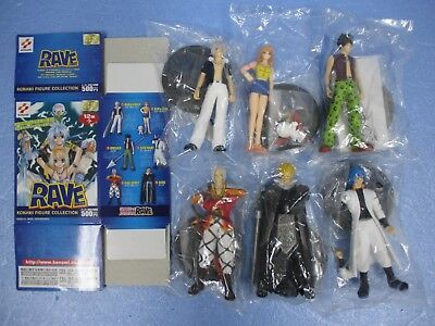 Rave Master Figure Collection Set of 6 official authentic Normal color ver.