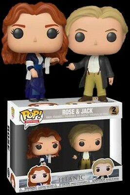 Funko pop 2 pack titanic movie Jack rose Leonardo DiCaprio pre-order January 19