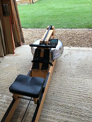 WaterRower Rowing Machine with S4 Performance Monitor in Ash - GREAT condition