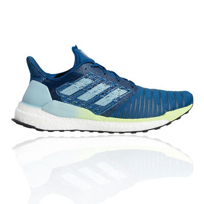 finest selection 48a21 86911 Adidas Homme Solar Boost Chaussures De Course À Pied Baskets Sport Trainers  Bleu